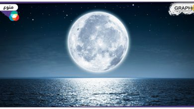 القمر أبنية