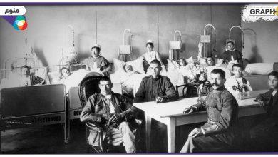 عدوى نادرة من الحرب العالمية الأولى