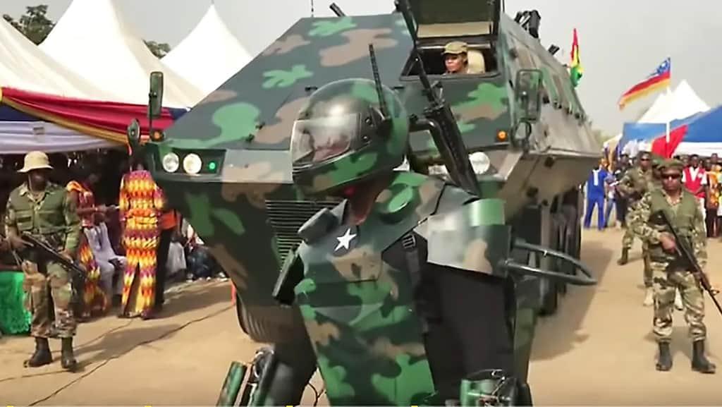 غانا هيكل