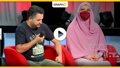 جزائرية تقبل رجل زوجها