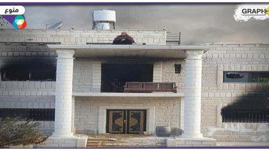 امرأة في نابلس تحرق منزل قاتل ابنائها