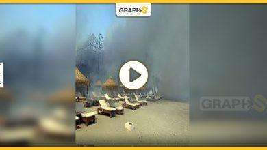 حريق هائل في إستيبونا إسبانيا