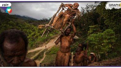 قبيلة إفريقية تعيش مع جثث أجدادهم