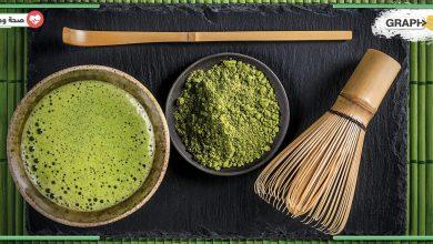شاي الماتشا الخضراء
