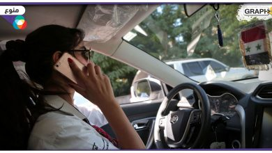 سورية تعمل سائقة أجرة