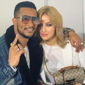 الفنان محمد رمضان وزوجته