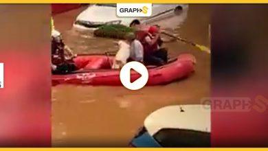 فيضانات عارمة في فلسطين