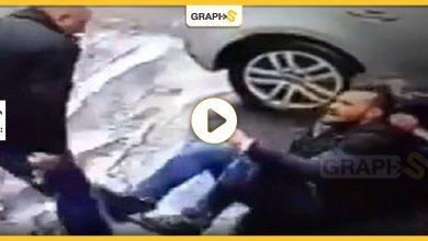 الاعتداء على رجل مسن
