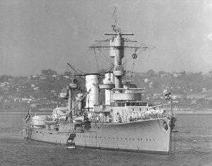 السفينة الحربية الألمانية