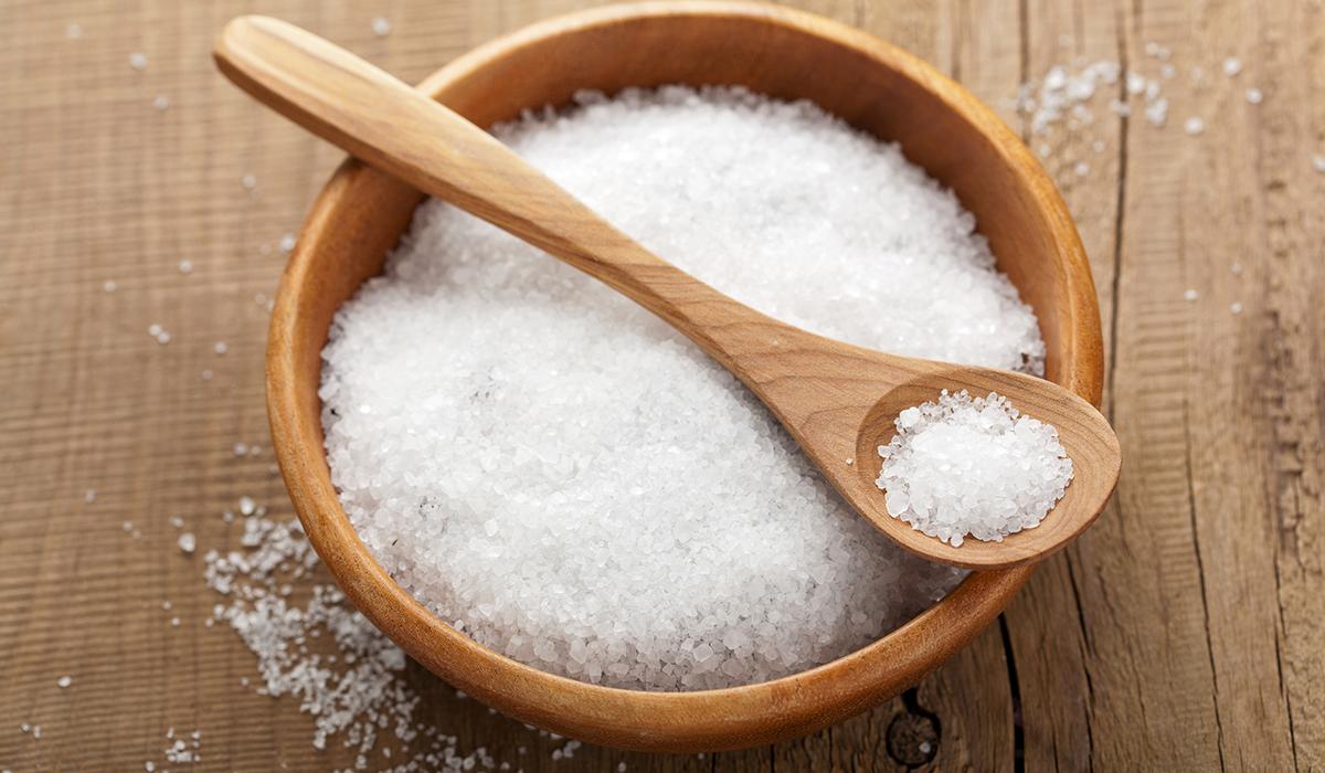 تناول الملح