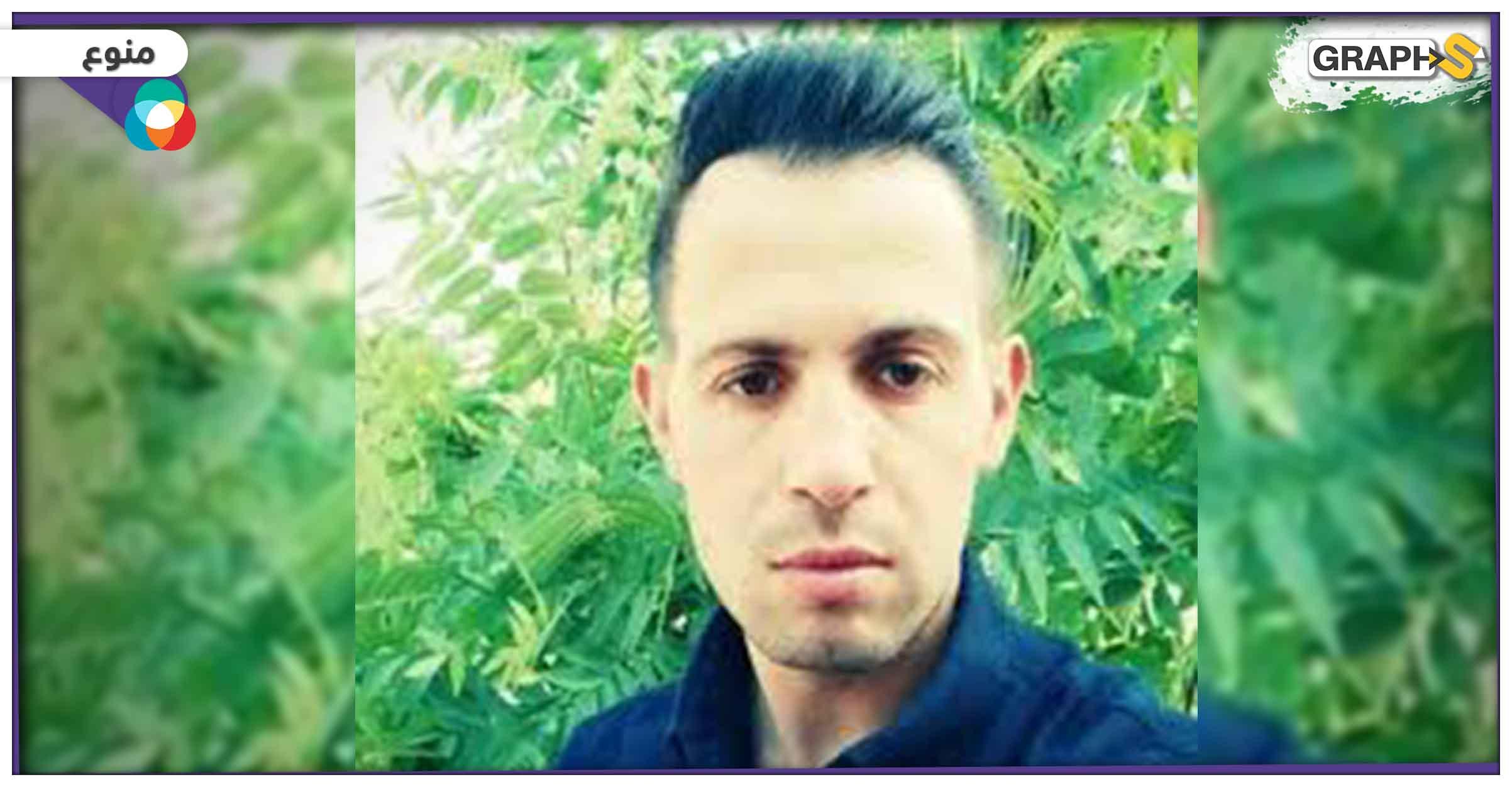 لحظة وفاة شاب فلسطيني