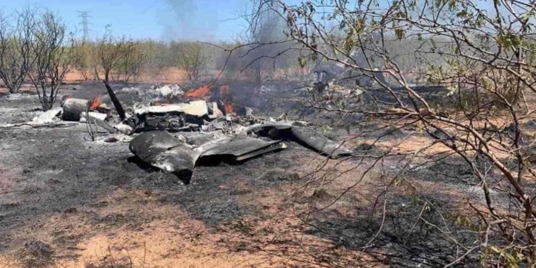 حادث تحطم طائرة مدنية