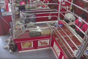 سرقة متجر مجوهرات