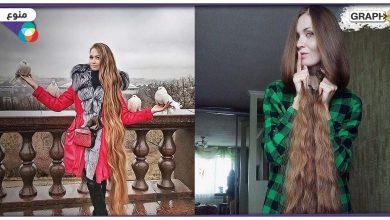 أطول شعر فتاة في روسيا