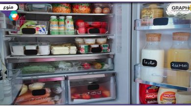 تنظيم الثلاجة بالمنزل