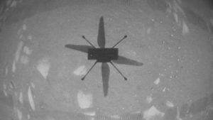 طائرة مروحية صغيرة