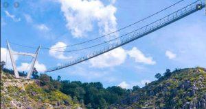 أطول جسر مشاة معلق في العالم