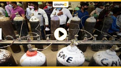 سوق سوداء للأكسجين في الهند