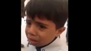 صيحة تلميذ عراقي