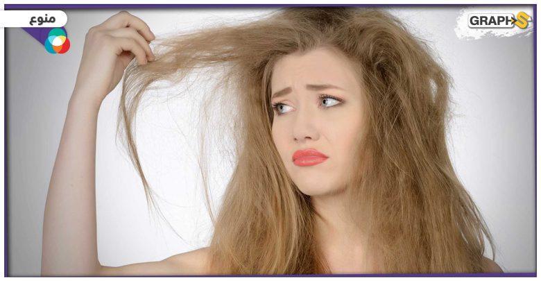 جفاف الشعر