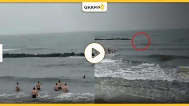 إنقاذ طفل صغير ابتلعته الأمواج بالسعودية