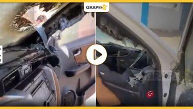 انفجار شاحن جوال داخل سيارة