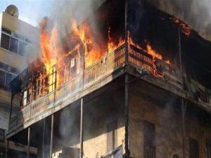 عراقية تحرق زوجها