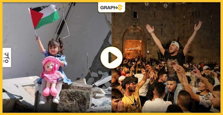 مساجد غزة تصدح