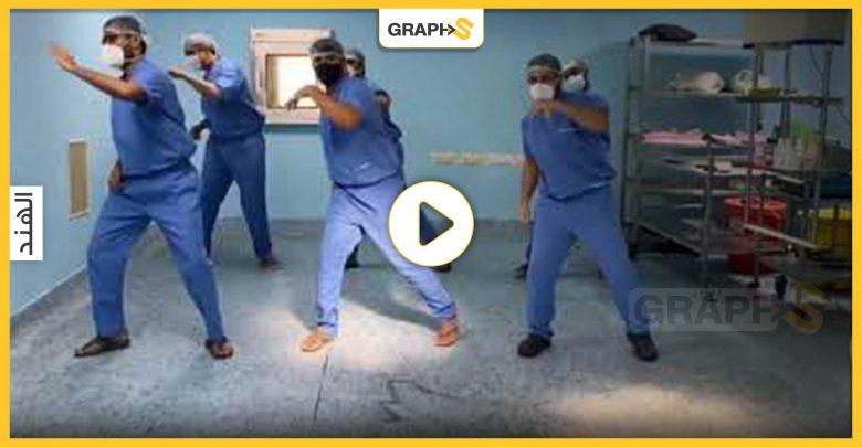 رقصة أطباء في الهند