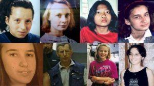 المجرم وبعض ضحاياه
