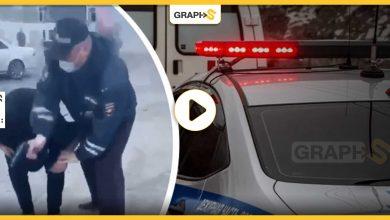 شرطي مرور روسي