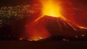 بركان نيراجونجو يتسبب بكارثة