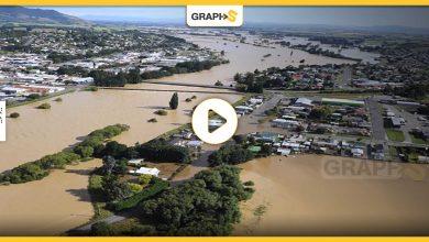 الفيضانات تجتاح نيوزيلندا