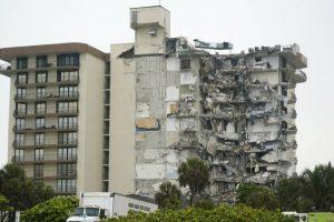 انهيار مبنى في أمريكا