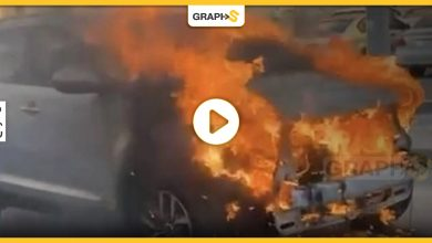 سعودي ينقذ العشرات من انفجار سيارة