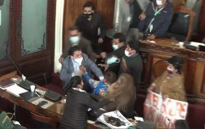 صراع داخل مجلس النواب بوليفيا