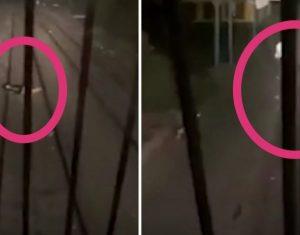 شاب يفترش السكة الحديدية محاولاً إنهاء حياته في مصر