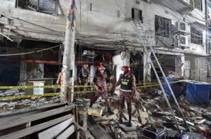 انفجار عنيف هز عاصمة بنغلادش