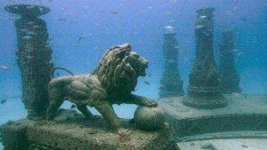 أجمل المدن القابعة تحت الماء