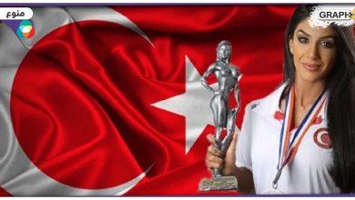 لاعبة كمال أجسام تركية
