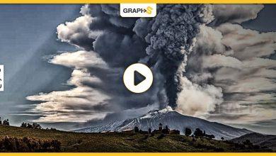 بركان إنتا الإيطالي
