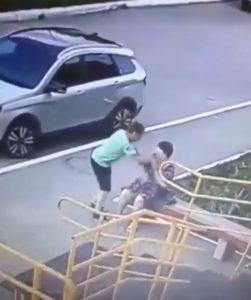 عملية سرقة عنيفة في روسيا