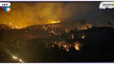 حرائق في قبرص