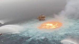 فيديو مذهل لـ عين النار