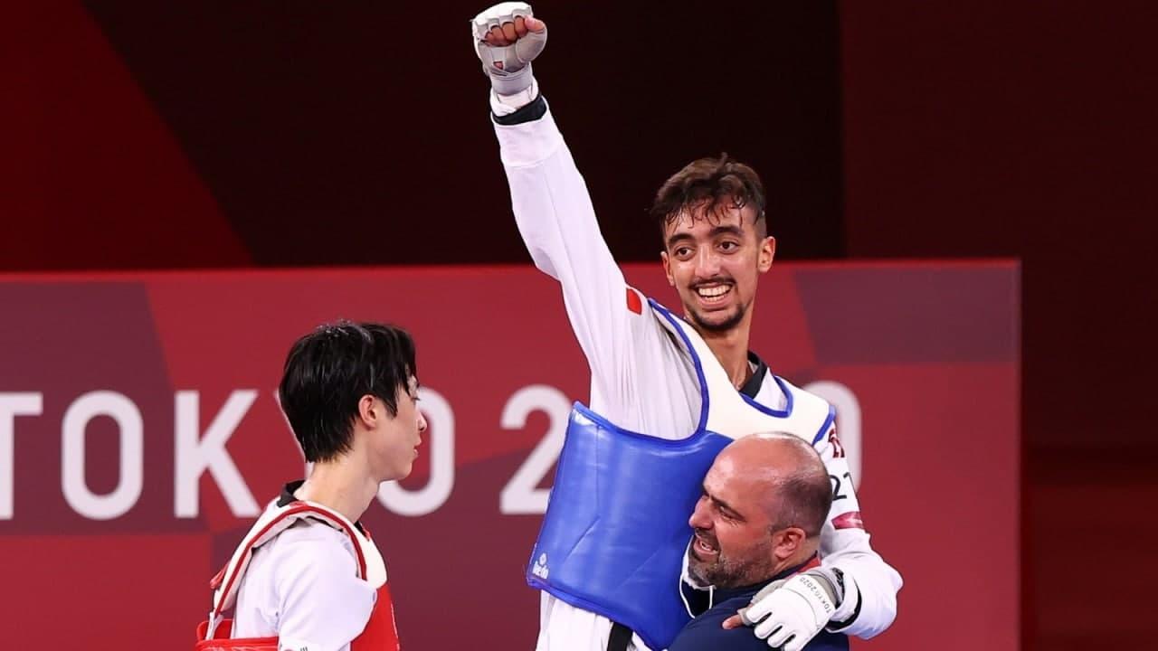 البطل التونسي محمد الجندوبي يحقق أول ميدالية للعرب في أولمبياد طوكيو