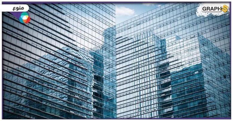 زجاج ذكي يعمل على تبريد المباني في الطقس الحار
