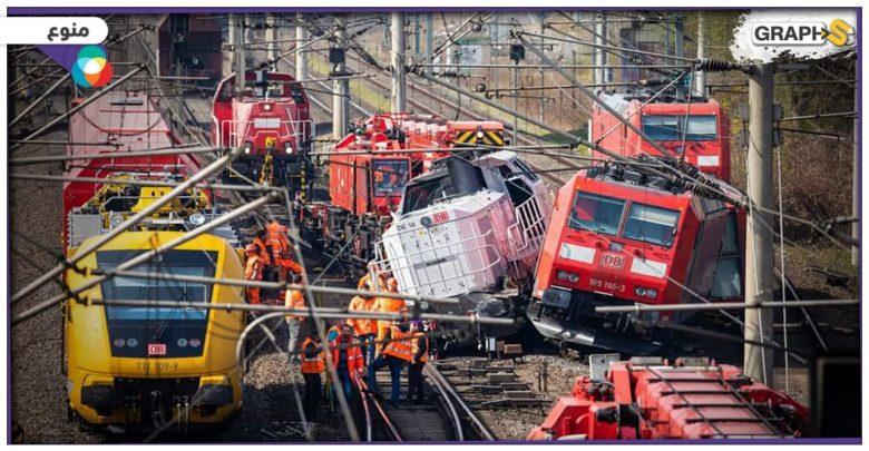 تصادم قطارين في أمريكا