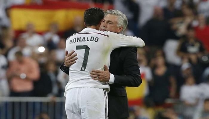 """وكيل رونالدو يعرضه على ناد إنكليزي جديد.. أنشيلوتي يمهد """"لمفاجأة كبيرة """"في ريال مدريد"""
