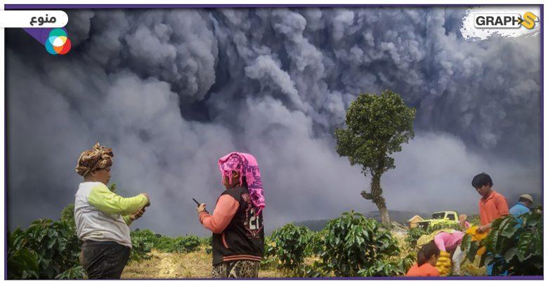 """""""أخبار العالم"""" بسبب إشكال على محطة بنزين قتيلان في لبنان.. قتيلان في أمريكا.. حريق مفتعل في إيطاليا.. ثوران بركان في إندونيسيا"""