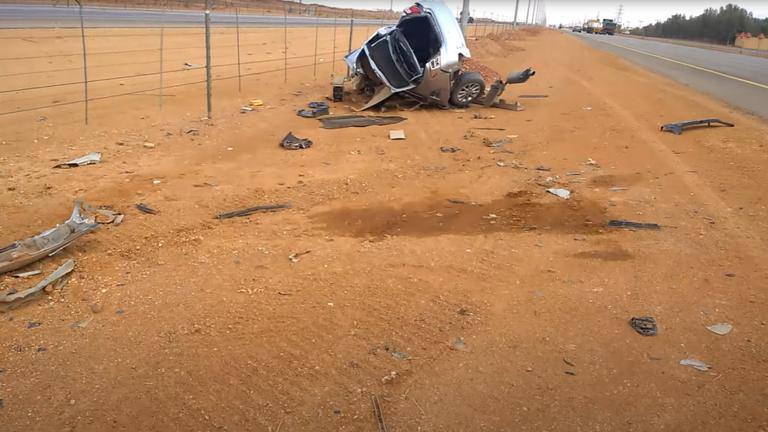 """""""أخبار العالم"""" حادث بالسعودية والقتلى 4أردنيين"""